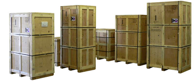 Custom Made Wooden Crates