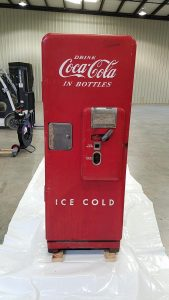 Antique CocaCola Machine Shipping