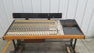 Vintage Sound Recording Console for Export