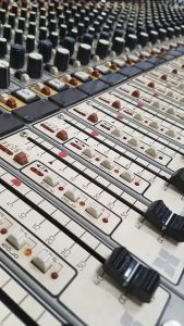 Vintage Sound Recording Console
