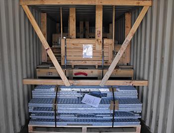 Ocean Container Block & Brace