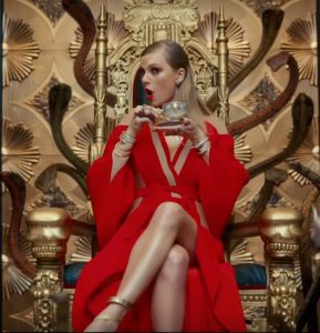 Taylor Swift's Throne of Snakes