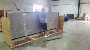 Custom Wood Table Crating & Packaging