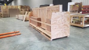 Custom Wood Table Crating Services