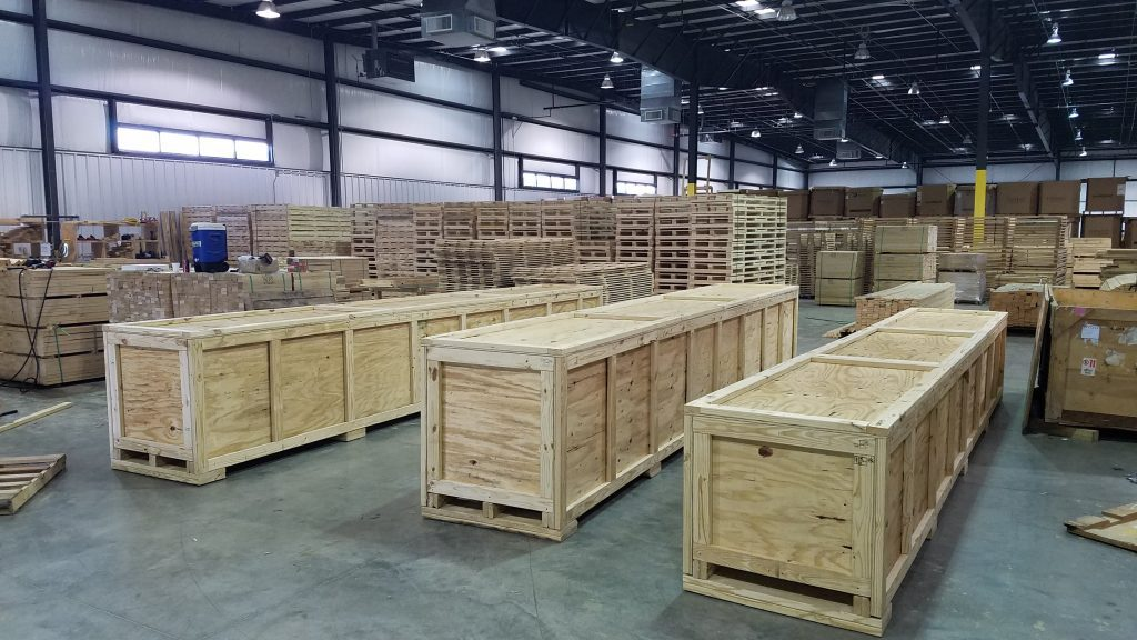 Oversized Crates for Belgium