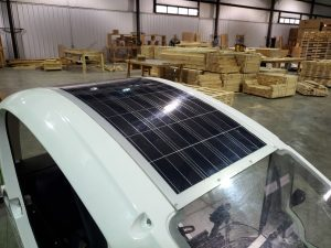 Solar-Assisted Tricycles Export Crating